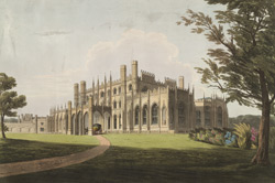 SW View of Eaton Hall, near Chester, the Seat of Earl Grosvenor